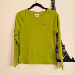 La coste long sleeve shirt size Medium
